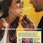 Vintage sigaretreclame druipt van de insinuaties!