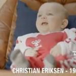 Christian Eriksen van Ajax in Reclamespot Deense TV