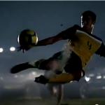 Voetbalreclames hebben vaak iets extra's
