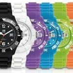 Paranello Unicolors Horloge in 5 kleuren met tot 51% korting