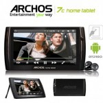 Archos 7c Home Tablet 8 GB Android Tablet met 50% korting!
