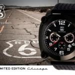 """Limited edition horloge """"Chicago"""" van ROUTE 66 met 67% korting"""