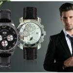 Een André Belfort horloge met keuze uit 2 modellen (Grande Classe AB-8510 en Terra Nova AB-5910) in verschillende kleuren met 83% korting