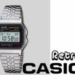 Retro Casio Horloge