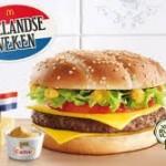 Het zijn weer Hollandse weken bij McDonald's