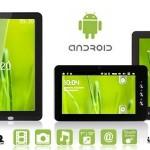 Een tablet: 7 of 10 inch scherm met Android 2.3, wifi en 3G met 56% korting