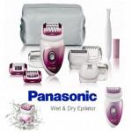 Panasonic Wet & Dry ES-WD72-P503, de ultraluxe epilator met 40% korting
