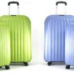 Een 2-delige Enrico Benetti Spinners kofferset van Dimass in diverse kleuren met 47% korting