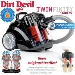Een Dirt Devil Twinfinity 1600 Watt Multicyclone stofzuiger met € 170 korting