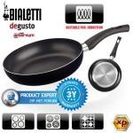 2 Bialetti deGusto Inductie Simplicity Koekenpannen 24 & 28 cm met 50% korting