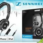1 of 2 Sennheiser HD238i stereokoptelefoons met 54% korting