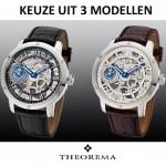 Een Theorema Panthos horloge is 3 uitvoeringen