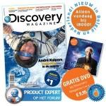 Een Jaarabonnement Discovery Magazine met 43% korting