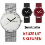 Een Lambretta Franco retro horloge verkrijgbaar in 8 kleuren met 47% korting