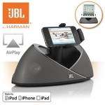 Een JBL On Beat Air speakerdock met Airplay met 50% korting