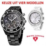 Swiss Legend Karamica SL-30050 Chrono herenhorloges met 80% korting!