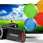 Toshiba 3D videocamera's voor de mooiste en levendigste opnamen, inclusief verzendkosten vanaf € 177,-