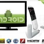 Android 4.0 Google TV Cloud Stick met of zonder afstandsbediening met 53% korting!