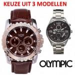3 sportieve Olympic chronografen (OL70HSL020, OL70HSL019, OL29HSS011) met 69% korting
