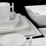 Porseleinen servies van New Bone China met 36 of 72 delen via WICOR Horeca Supplies met 55% korting!
