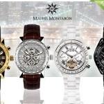 Een Mathis Montabon horloge met 82% korting