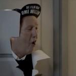 Ome Willem samen met Kill Bill in Ziggo commercial