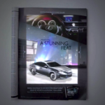 Knap staaltje techniek in 'n Lexus advertentie