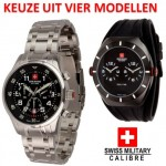 Een Swiss Military Calibre Chrono horloge