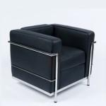 Design fauteuil; Charles Le Corbusier LC2 in verschillende uitvoeringen| Nu voor € 299 ipv € 699