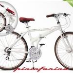 Pininfarina aluminium vouwfiets met 21 Shimano Altus versnellingen met 64% korting
