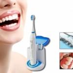 Ultrasonic electrische tandenborstel met UV reiniger met 57% korting