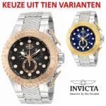 Tien oversized modellen INVICTA Pro Diver horloges uit de 2013 collectie