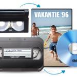 Laat 5, 10 of 20 videobanden omzetten naar DVD