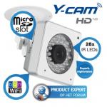Y-Cam Cube WiFi-N camera met krachtige nachtzichtfunctie