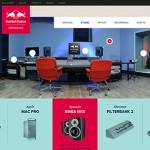 Red Bull Studio`s komt met nieuwe identiteit en global website