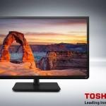 32″ Toshiba Led Direct-televisie met achtergrondverlichting voor maar € 269