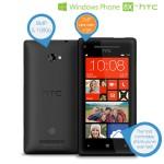HTC Windows 8X smartphone telefoon met Beats Audio en 16GB interne opslag