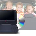 LG DT733 portable DVD speler met 30% korting
