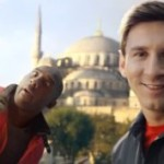 Kobe vs. Messi: The Selfie Shooutout van Turkish Airlines
