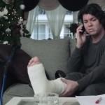 Het gebroken been van Royke Donders en Interpolis