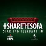 Heineken #ShareTheSofa met Gullit of van Nistelrooy