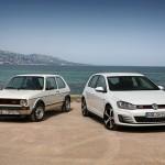 De VW Golf is 40 jaar geworden