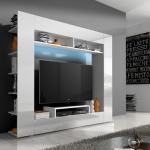 Modern wandmeubel met LED-verlichting met 58% korting!