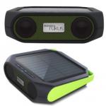 Soulra Rukus Xtreme speaker met USB-aansluiting of op zonneenergie